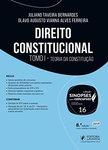 Direito Constitucional: Tomo I - Teoria da Constituição