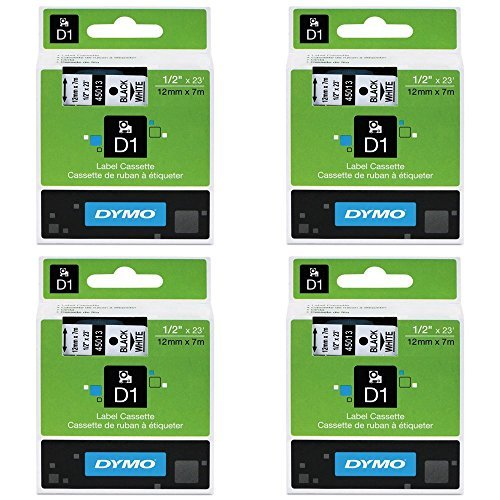 dym45013-dymo-black-on-white-d1-label-tape-pack-of-4