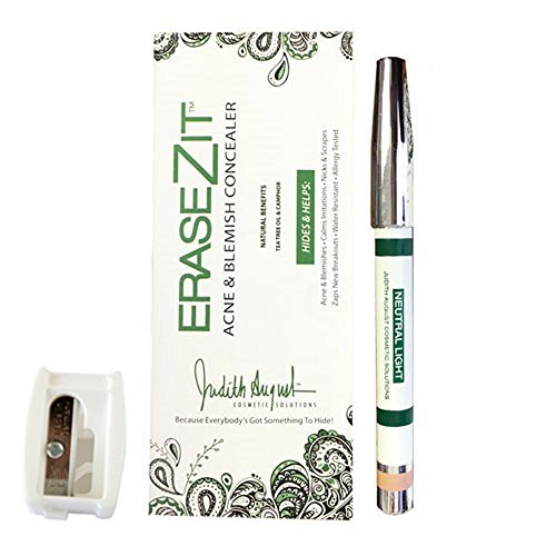 Judith August EraseZit Antiseptic Pencil Neutral Light With Sharpener
