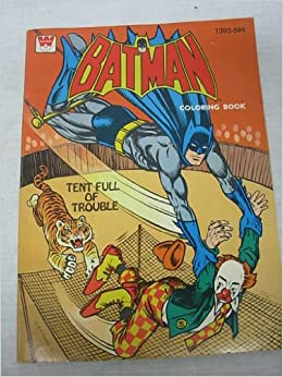 Batman Coloring Book Tent Full Of Trouble DC Comics Amazon Books