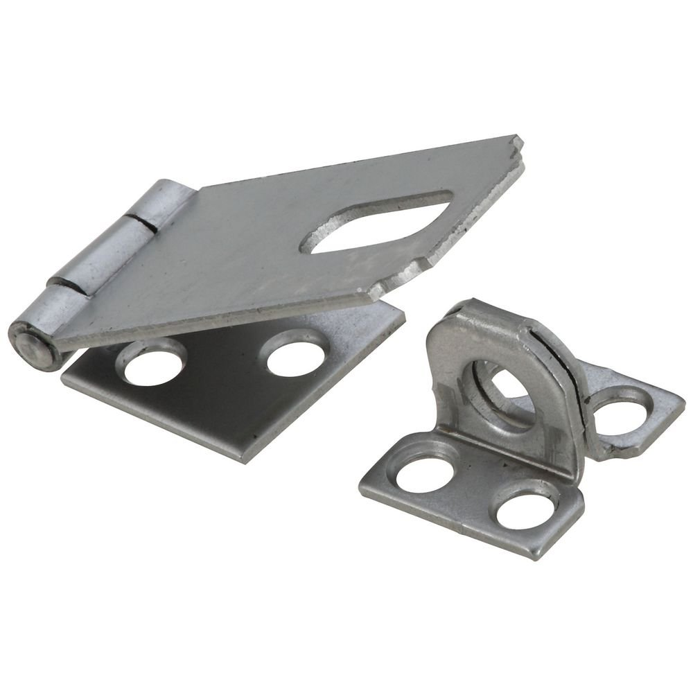 National Hardware N102 103 30 Safety Hasp in Plain Steel