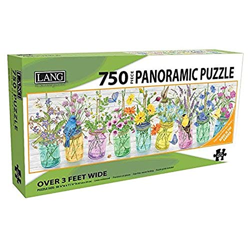 - Birds in the Garden 750 Piece Jigsaw Puzzle 38.25w X 11.25