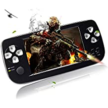 Handheld Game Console,YANX Portable Video Game Console Game Player Gifts for Boys Girls Kids Children (k3black)