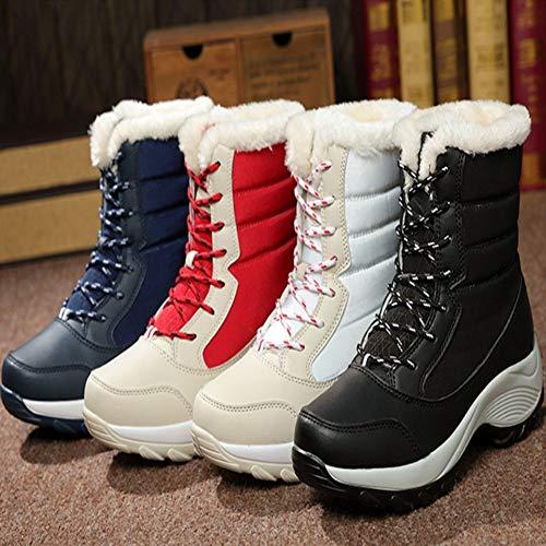 nbsp;térmicas nbsp; nbsp;nieve nbsp; nbsp;altas Forty nbsp;botas nbsp;impermeables De Zapatos Ykfchdx Mujer nbsp;botas De De Lluvia nbsp;invierno 0q8zXp7
