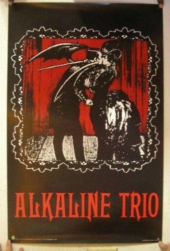 Alkaline Trio Poster The Cartoon Image