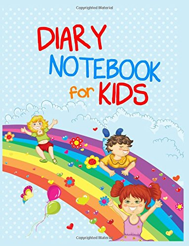 Diary Notebook For Kids: 8.5 x 11, 108 Lined Pages (diary, notebook, journal, workbook)