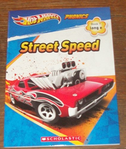 "Price comparison product image HOT WHEELS - PHONICS!! ""STREET SPEED"" LONG-E,  BOOK 7"