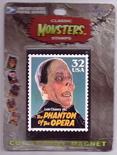 Lon-Chaney-Sr-Classic-Monsters-USPS-Stamp-Magnet-Phantom-of-the-Opera