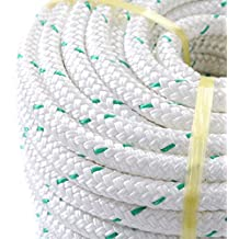 "NEW 3/7"" x 150' Double Braid Polyester Bull Rope Cord Sling, 5900Lbs Tensile Strength, Great for Tree Work, Cargo, Sailing, Rigging, Outdoor, Climbing, Camping, Marine, General Purpose and Etc"