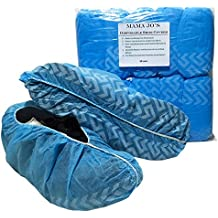 Mama Jo's Disposable Shoe & Boot Covers - Large Booties Fits Size 12 Work Boot or Shoes - Protective Painter Booties for Home or Work - Durable, Reliable and Recyclable (100 Per Pack) 50 Pair