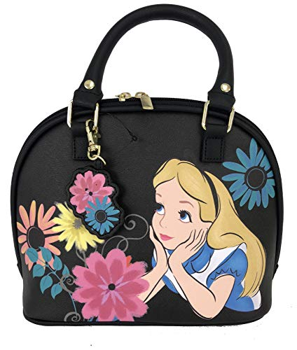 Loungefly Disney Alice In Wonderland Faux Leather Mini Dome Bag WDTB1208