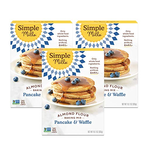 🥇 Simple Mills Almond Flour Pancake Mix & Waffle Mix