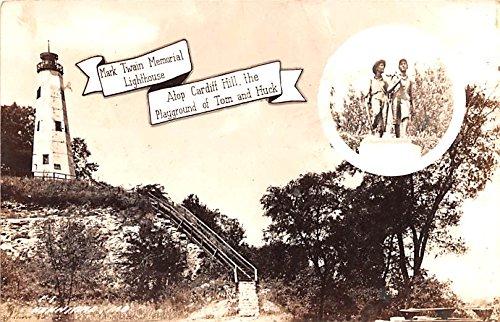 Mark Twain Memorial Lighthouse Hannibal, Missouri postcard