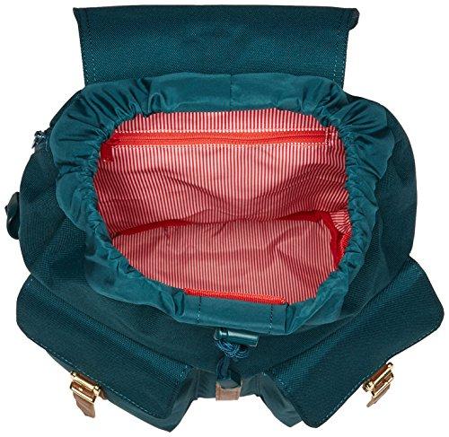 Leather Peacoat Tan X Gruen Dawson Gruen smaragdgrün Synthetic Small Herschel qwYtxF6agn