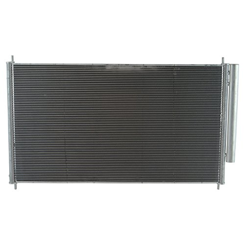 AC Condenser A/C Air Conditioning with Receiver Drier for 05-10 Honda ()