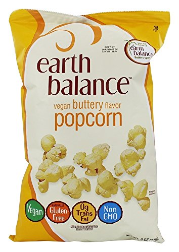 Earth Balance Gluten Free Vegan Buttery Popcorn, 6 Ounce (Buttery Popcorn compare prices)