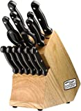 Chicago Cutlery Essentials Stainless Steel Knife  Block Set (15-Piece)
