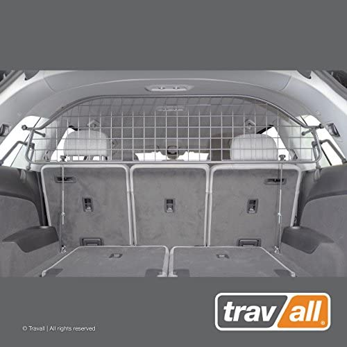 Travall Guard Compatible with Audi Q7 2015-Current SQ7 2016-Current Without Sunroof TDG1491 – Rattle-Free Steel Vehicle Specific Pet Barrier