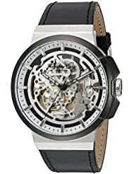 Kenneth Cole New York Mens 10022314 Automatic Analog Display Japanese Automatic Black Watch