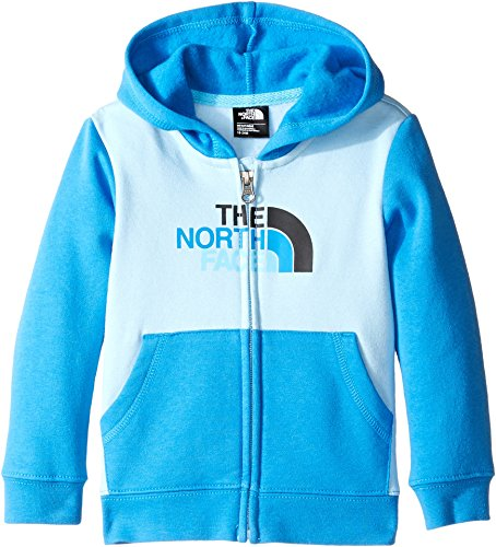 Price comparison product image The North Face Kids Unisex Logowear Full Zip Hoodie (Infant) Sky Blue -Prior Season 3-6 Months
