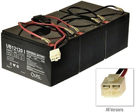 amazon.com: alveytech razor mx500 / mx650 36 volt 12 ah battery pack  (w15128190003), includes three 12 ah batteries, wiring harness, and wiring  diagram: automotive  amazon.com