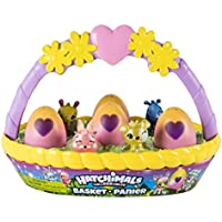 Hatchimals CollEGGtibles Spring Basket with 6 Hatchimals