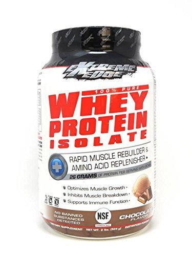 Cheap Bluebonnet Nutrition Extreme Edge Whey Protein Isolate Powder, Chocolate Flavor, 2 Pound