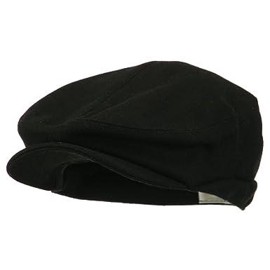 e4Hats.com Big New Wool Blend Ivy Cap - Black (XL-2XL) at Amazon ... 32ad773865e