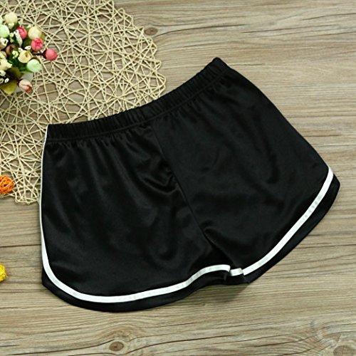 WOCACHI Women Shorts 2019 New Summer Casual Sport Shorts High Waist Yoga Shorts by WOCACHI Women Shorts (Image #1)