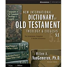 New International Dictionary of Old Testament Theology & Exegesis 5.0 For Windows