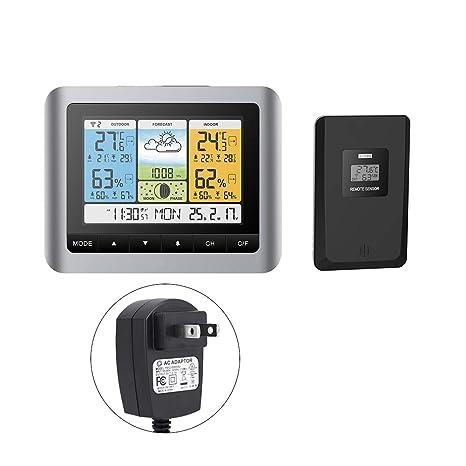 Fdit Socialme-EU Termómetro Digital de Temperatura de Pantalla LCD Termómetro Digital de Temperatura de