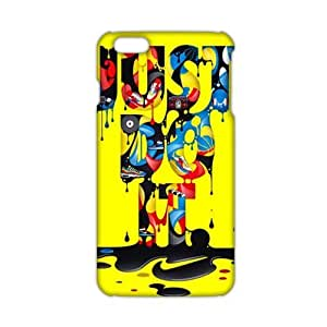 Just do it Colorful melting pattern 3D Phone For Iphone 6Plus 5.5Inch Case Cover