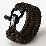 TITAN Paracord Survival Bracelet | Made with Patented SurvivorCord