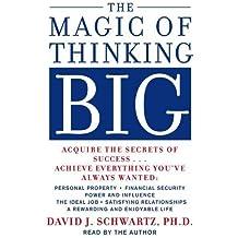 The Magic of Thinking Big by Schwartz, David(March 28, 1986) Audio CD