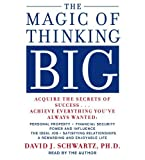 img - for The Magic of Thinking Big by Schwartz, David(March 28, 1986) Audio CD book / textbook / text book