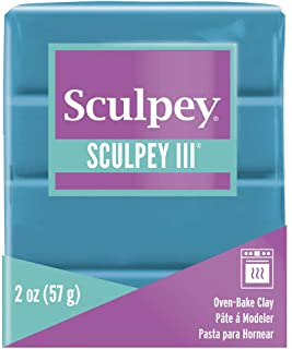 product image for Sculpey III Polymer Clay 2oz-Teal Pearl
