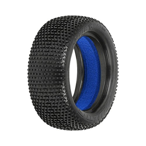 Pro-line Racing 1/10 Front Hole Shot 2.0 2.2 4WD X2 Tires with Closed Cell Foam inserts: Off-Road Buggy -