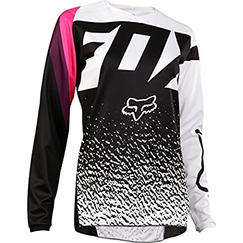 2018 Fox Racing Womens 180 Jersey-Black/Pink-M - Women Off Road Jerseys