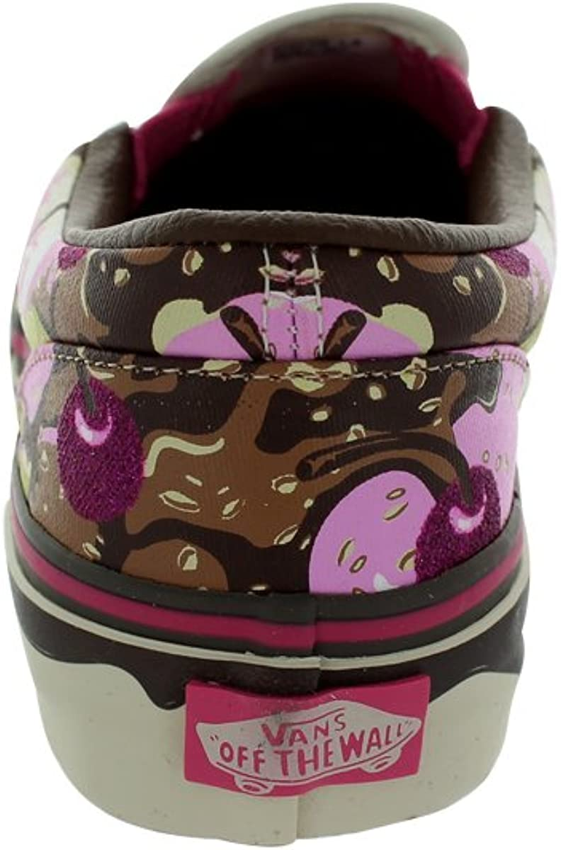 Vans Kids Classic Slip-on, Baskets Mode Mixte Bébé Marron Banana Split Ice Cream