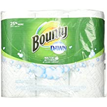 Bounty with Dawn Water Activated Detergent Towels 6 Rolls