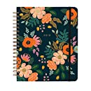 Rifle Paper Co 17 Month Agenda 2018 (Spiral Planner) (Jumbo, Lively Floral)