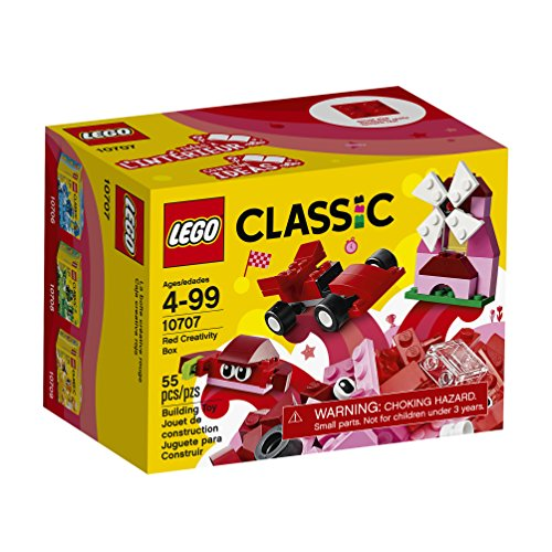 LEGO Classic Red Creativity Box 10707 Building Kit JungleDealsBlog.com