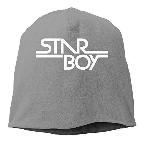 YUVIA Starboy Men's&Women's Patch Beanie JoggingDeepHeather Caps For Autumn And Winter (Daft Punk Without Costumes)