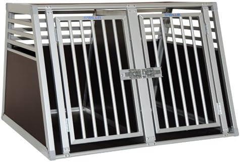 Hersteller wie Kleinmetall, Schmidt oder Dogstyler bieten auch eine Hundebox Maßanfertigung an