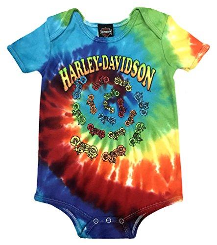 Harley Davidson Rainbow Tie Dye Creeper 3050747 product image