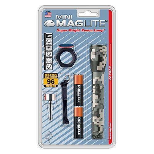 Maglite Mini Incandescent 2-Cell AA Flashlight Combo, Univer