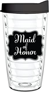 product image for Smile Drinkware USA-Maid of Honor Chalkboard 16oz Tritan Insulated Tumbler with Lid and Straw