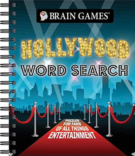 Brain Games - Hollywood Word Search -