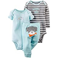 [Sponsored]Blue Puppy 3 Piece Pant Set Newborn