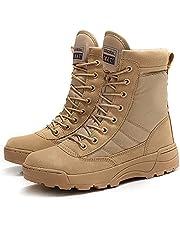 Xemuck Men's Waterproof Hiking Boots Outdoor Cross Country Trekking Martin Boots Gao Bang Backpacking Shoes